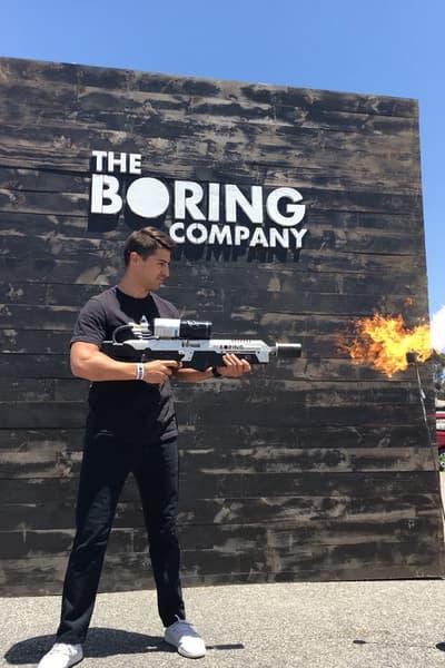 Elon Musk Flamethrowers Boring Company