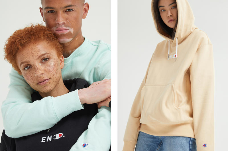 END. Champion Undivided Reverse Weave Color Blocked Collection Release Details Register Information