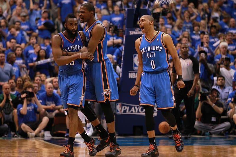 ESPN Films 30 for 30 Kevin Durant Russell Westbrook James Harden Oklahoma City Thunder nba