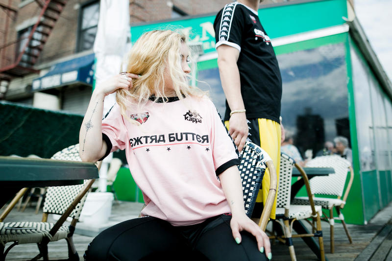 Extra Butter Kappa From Butter, With Love collection lookbook 2018 fifa world cup soccer russia