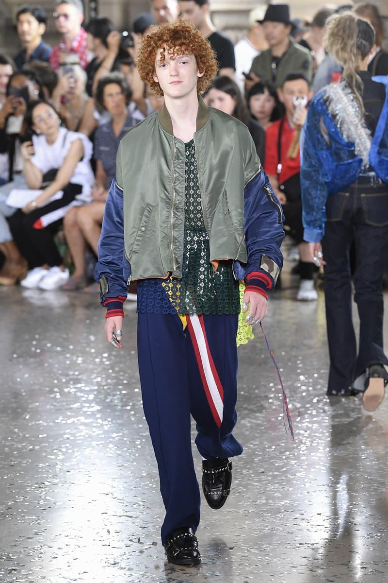 Facetasm spring summer 2019 runway collection paris fashion week men's Hiromichi Ochiai unisex women