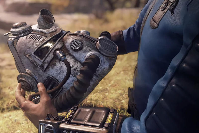 Fallout 76 E3 Reveal Trailer Online Survival RPG Bethesda Developers PlayStation 4 Xbox One