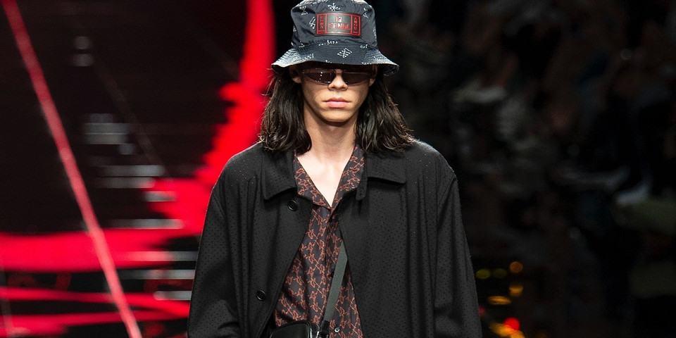 Fendi Debuts a Striking & On-Trend Spring 2019 Menswear Collection