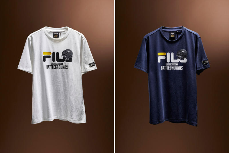 FILA PUBG PlayerUnknown's Battlegrounds Slides Sneakers T-Shirt Backpack Waist Bag