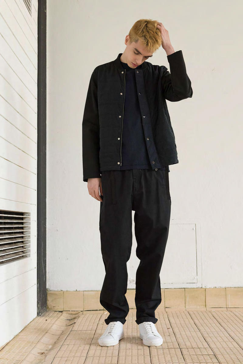 Folk Fall/Winter 2018 Lookbook Menswear Work Jackets Zip-Up Hoodies Blazers Caps Release Information Closer Look