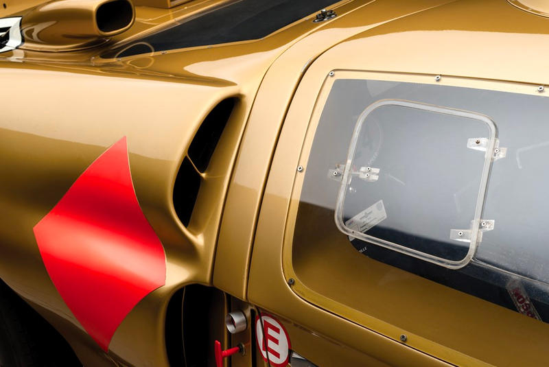 Ford GT40 Gold RM Sotheby's Auction racing race car 1966 24 Hours of Le Mans third place Ronnie Bucknum Dick Hutcherson Holman Moody racing team automotive