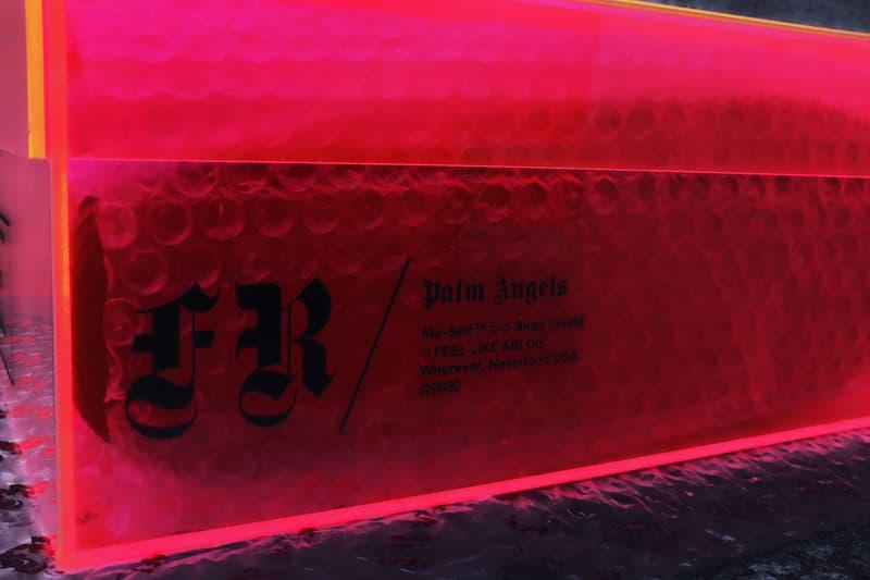 Franceso Ragazzi Palm Angels Bootleg AF1 Custom Shoes Kicks Sneakers Trainers Pink Green Blue Black White Orange Colorway Virgil Abloh