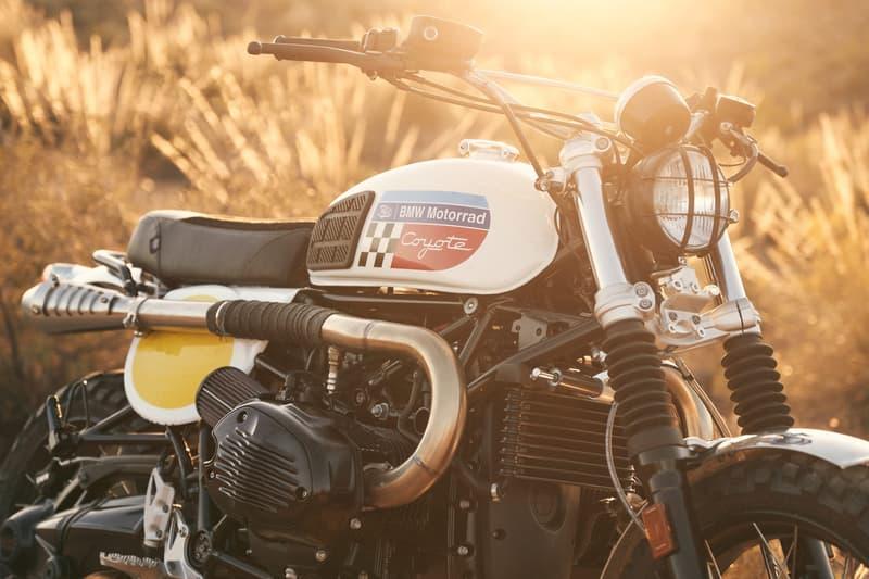 Fuel Motorcycles BMW Motorrad R nineT Urban GS Coyote custom