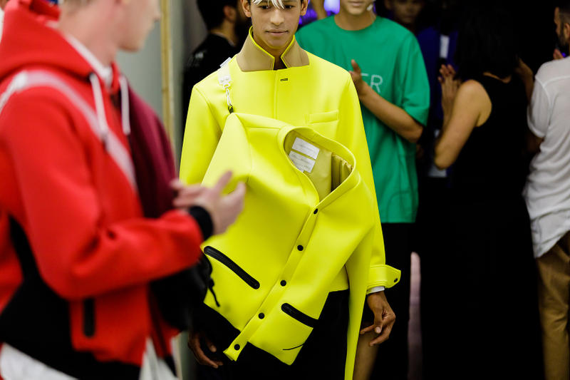 Fumito Ganryu Spring/Summer 2019 Backstage Pitti Uomo 94 Imagery Comme Des Garcons