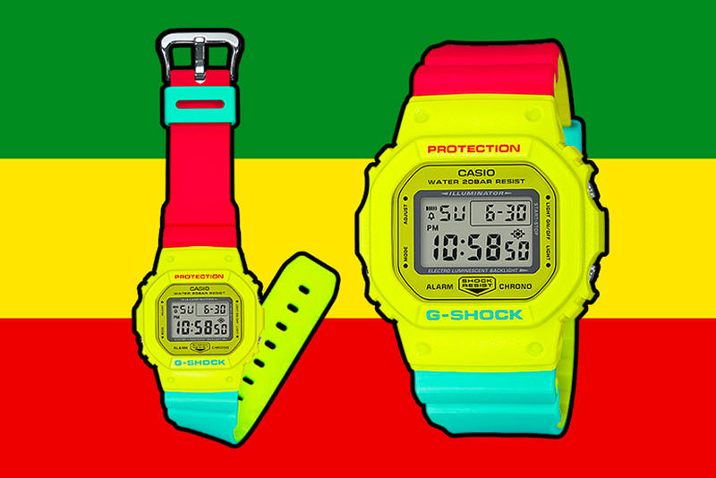 Casio G-SHOCK Brings Back the Rasta Series