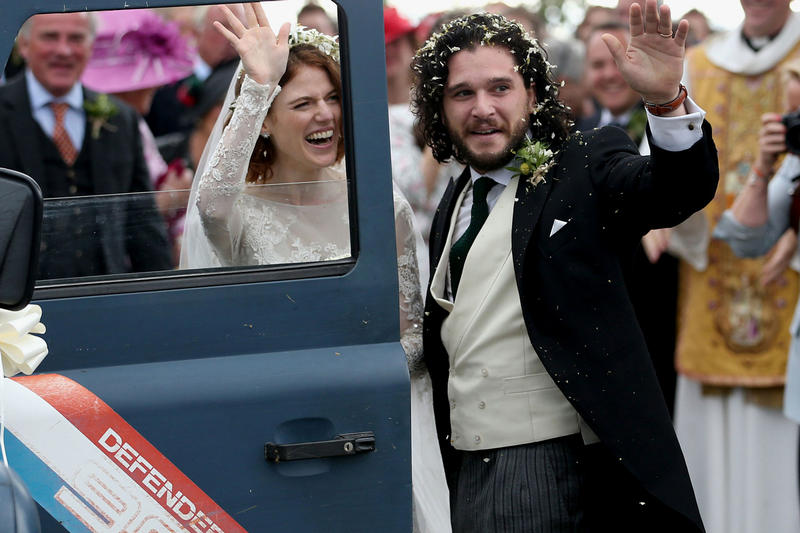 'Game of Thrones' Stars Rose Leslie and Kit Harington Got Married