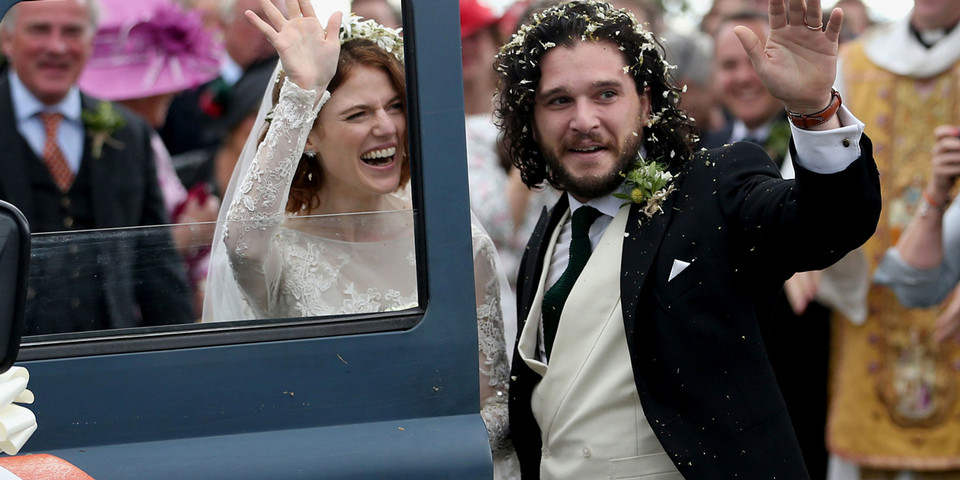 GOT's Rose Leslie and Kit Harington Now Married
