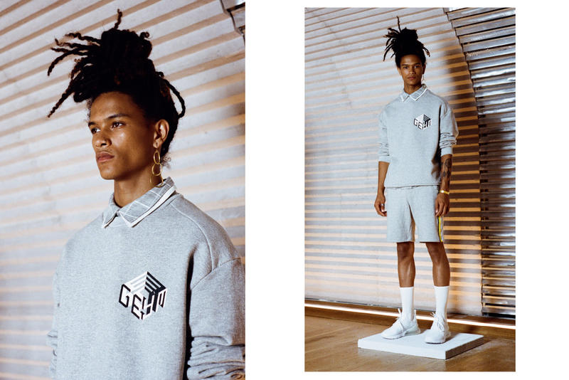 GEYM 'Neon Judgement' Spring/Summer 2019 Lookbook Lookbooks Inspired South America Incas Empire Ancient Civilization Modern Society Aztec