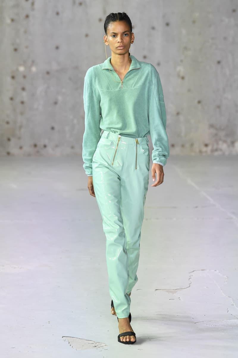 gmbh spring summer 2019 collection runway paris fashion week men women upcycled recycled Survival StrategiesBenjamin Alexander Huseby Serhat Isik