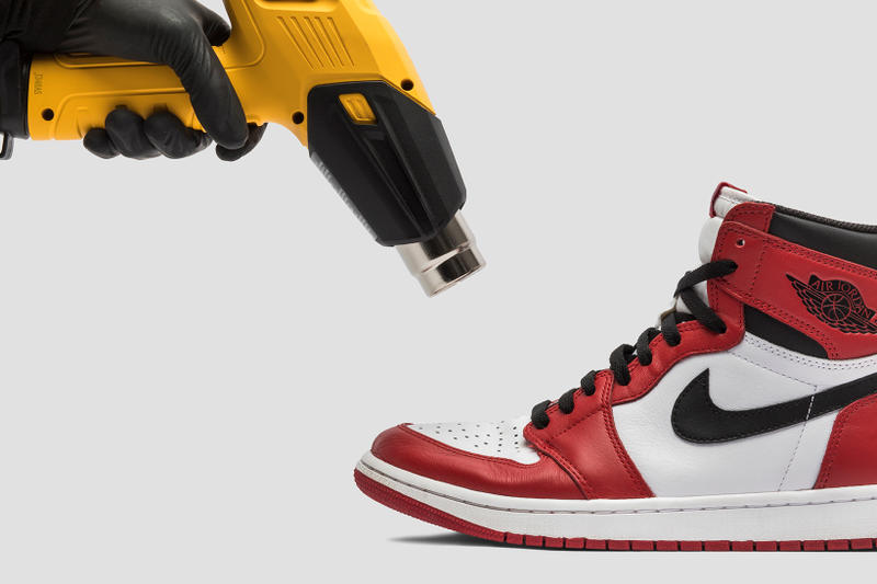 GOAT Clean Professionally Cleaned Sneaker Collection 2018