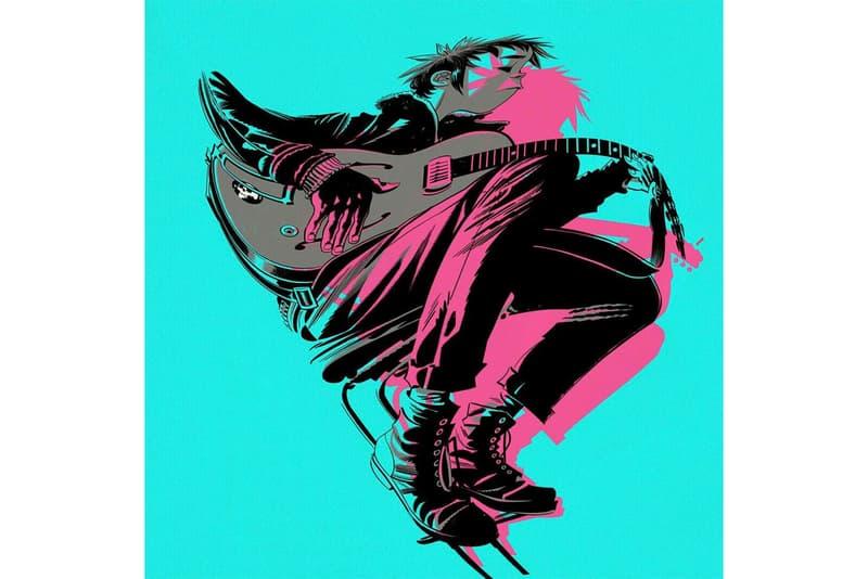 Gorillaz The Now Now Album Stream new music 2018 damon albarn