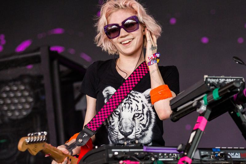 Grimes Previews New Songs Twitter