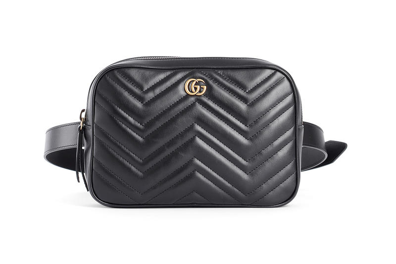 d9afc5948311 Unisex Gucci Fall Winter 2018 Fanny Pack black leather accessories release  info