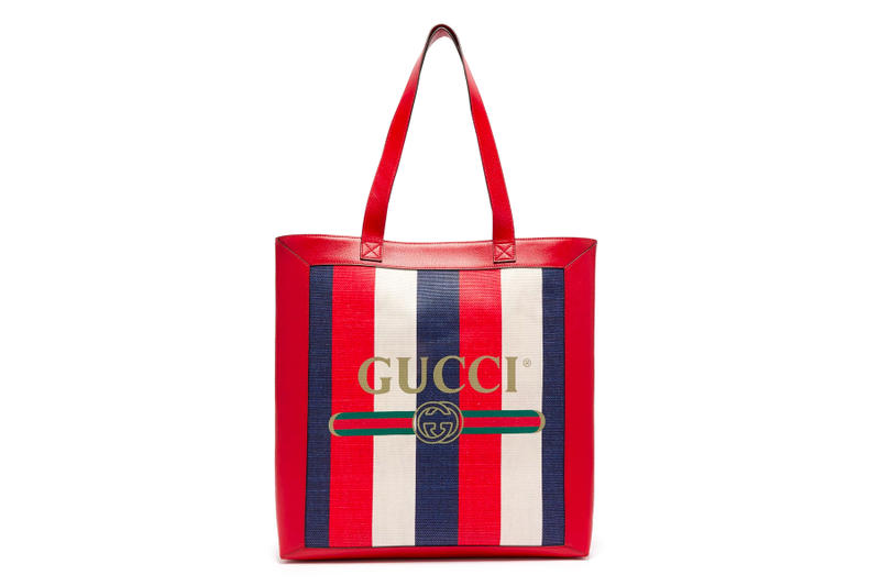 Gucci Tote Bags Pre-Fall 2018 Collection accessories green red blue white