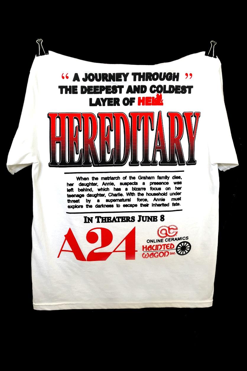 8372d2e58c38 Haunted Wagon 'Hereditary' Themed T-Shirts | HYPEBEAST
