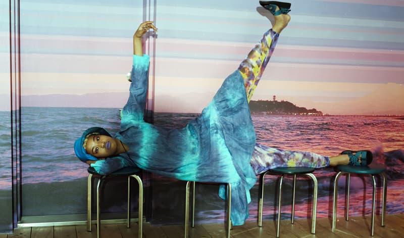 Nepenthes Spring Summer 2018 REMIX Series LAZY SUMMER DAZE Editorial Needles Engineered Garments AiE DJ Quietstorm