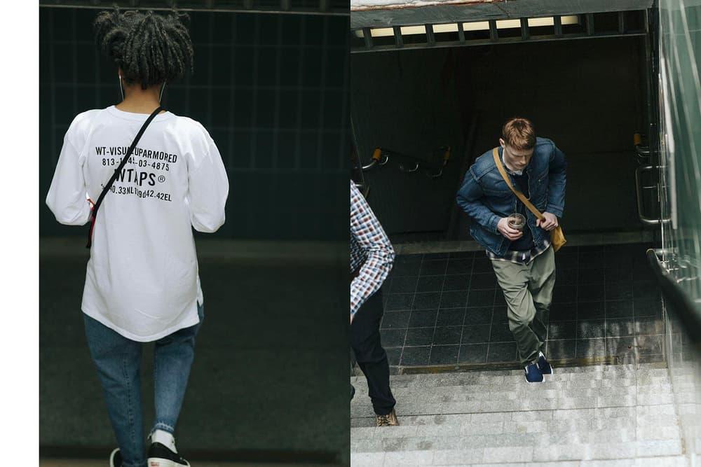 HAVEN Spring Summer 2018 Editorial visvim Vans nike Sasquatchfabrix. WACKO MARIA Engineered Garments nonnative converse