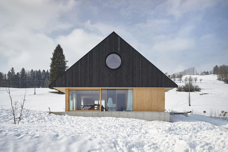 House with Gable mia2/Architektur Roßleithen Austria Houses Modern Interior Exterior Design Inspiration