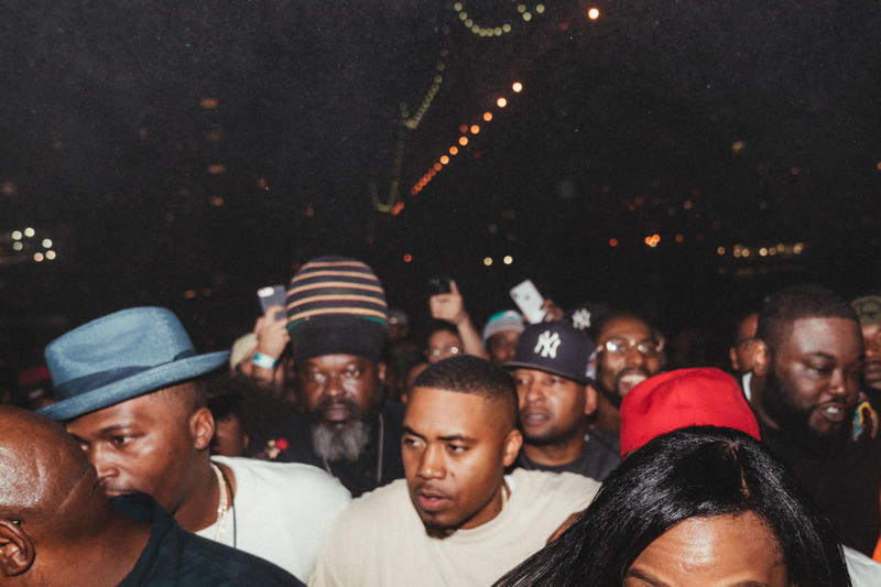 hypebeast nas nasir listening party kanye west