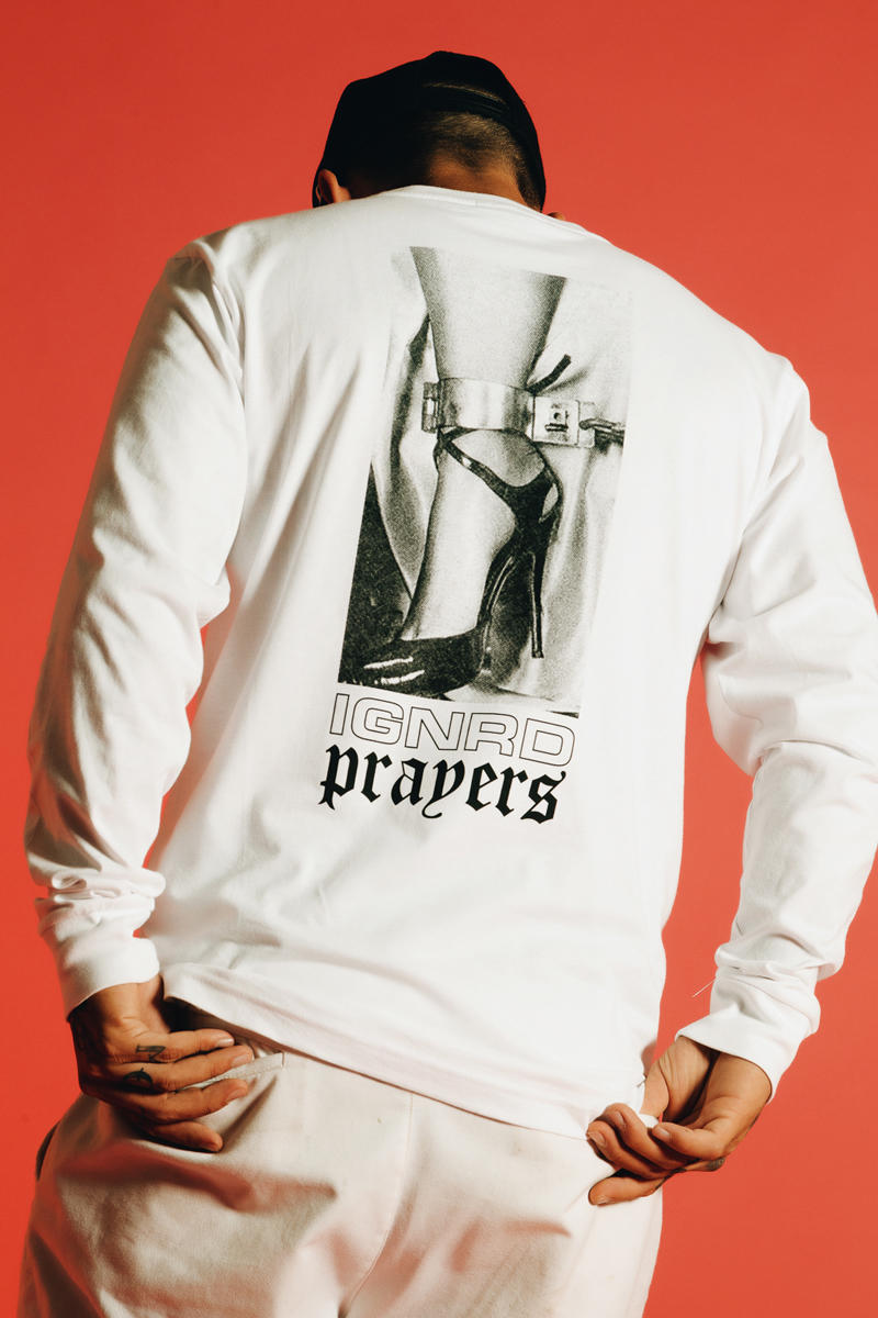 Ignored Prayers Spring Summer 2018 Delivery Two T-shirt Longsleeve Cap Hat lookbooks