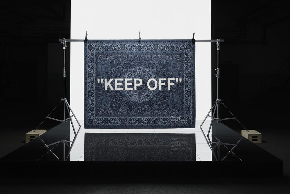 ikea art event 2019 rugs handmade limited edition virgil abloh keep off flooring sweden