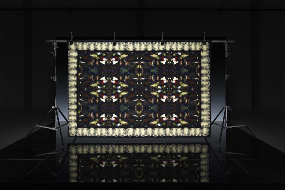 ikea art event 2019 rugs handmade limited edition Supakitch Chiaozza Noah Lyon Seulgi Lee Filip Pagowski red pattern