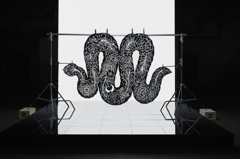 ikea art event 2019 rugs handmade limited edition grey black white illustration Supakitch Chiaozza Noah Lyon Seulgi Lee Filip Pagowski