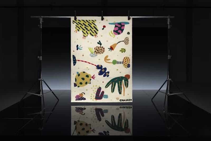 ikea art event 2019 rugs handmade limited edition Supakitch Chiaozza Noah Lyon Seulgi Lee Filip Pagowski tan beige