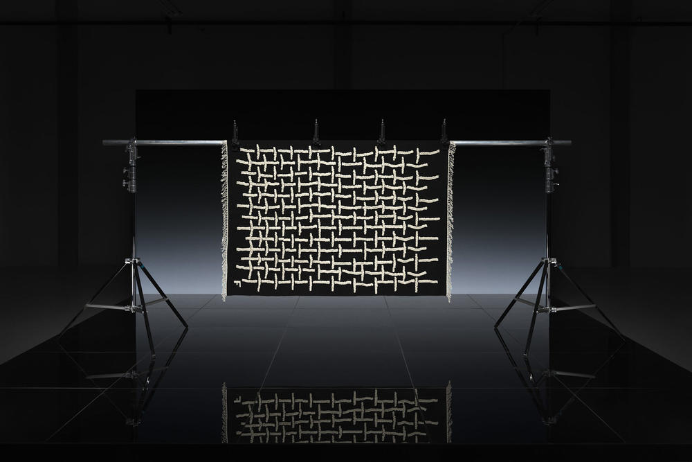 ikea art event 2019 rugs handmade limited edition Supakitch Chiaozza Noah Lyon Seulgi Lee Filip Pagowski white black