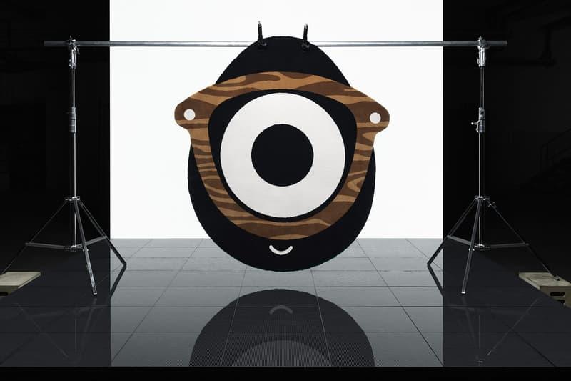 ikea art event 2019 rugs handmade limited edition Supakitch Chiaozza Noah Lyon Seulgi Lee Filip Pagowski glasses eye camouflage white black