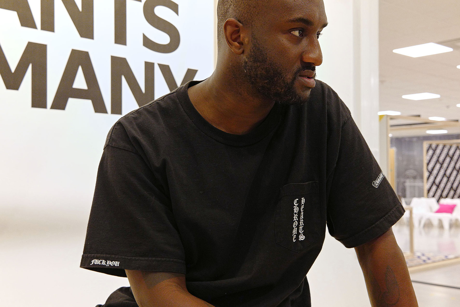 IKEA democratic Design Day 2018 Virgil Abloh Interview Chair Daybed Rugs Interior Affordable Design