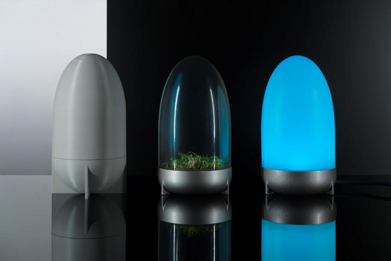 NASA IKEA RUMTID Collection furniture space mars research air purifier light terrarium modular