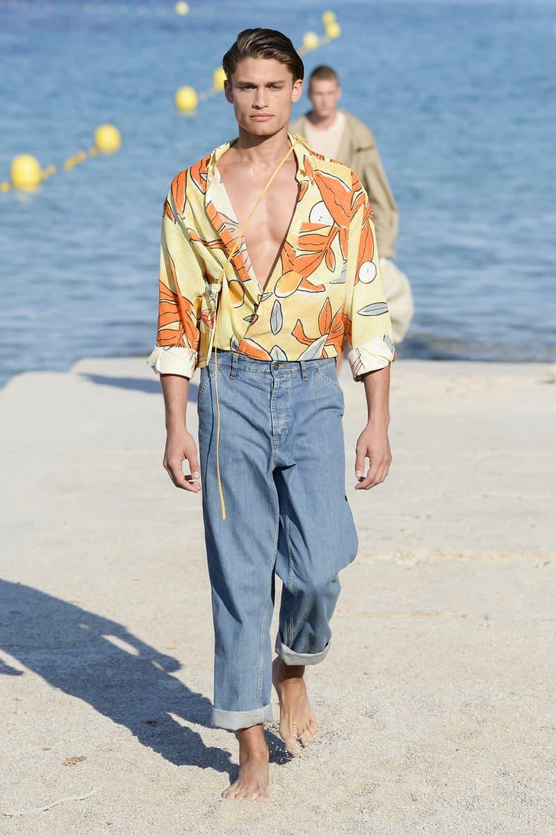 Jacquemus Spring Summer 2019 Menswear Collection debut premiere simon porte paris fashion week first