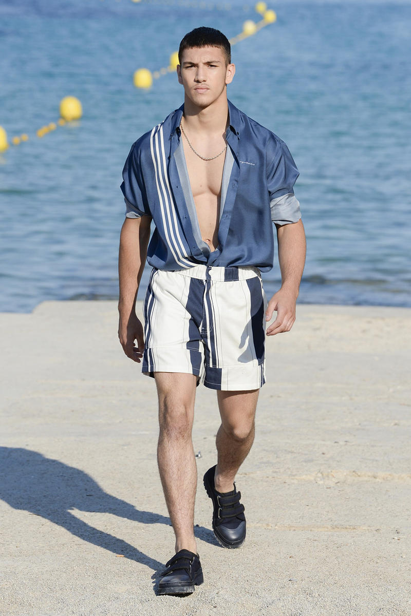 Jacquemus Spring Summer 2019 Menswear Collection debut premiere simon porte paris fashion week first