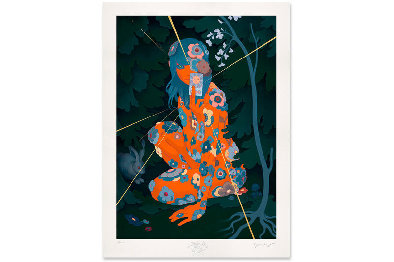 James Jean Sun Tarot Print june 12 2018 release date info drop