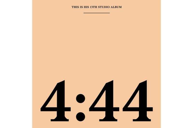 JAY-Z '4:44' Album Stream