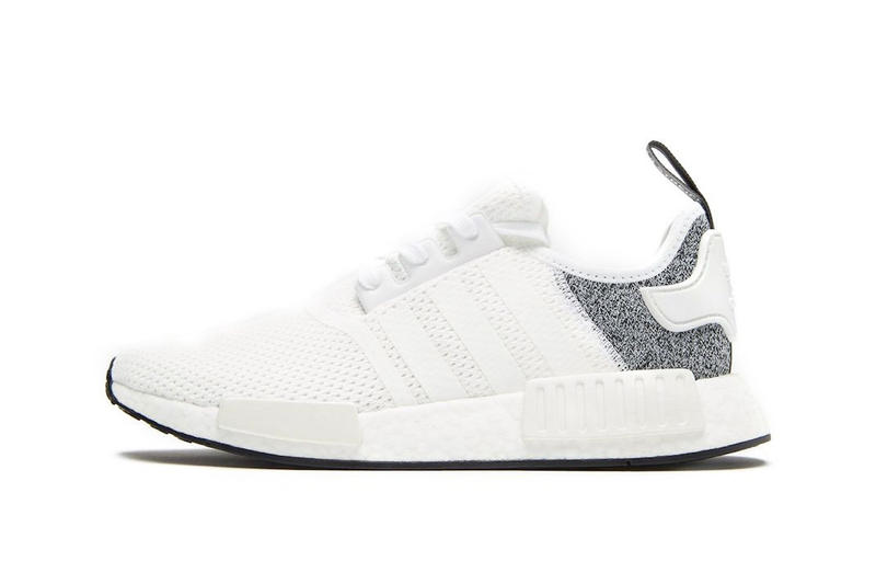 30bc5dc4bc JD Sports adidas NMD R1 exclusive release info white grey sneakers footwear