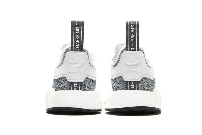 JD Sports adidas NMD R1 exclusive release info white grey sneakers footwear
