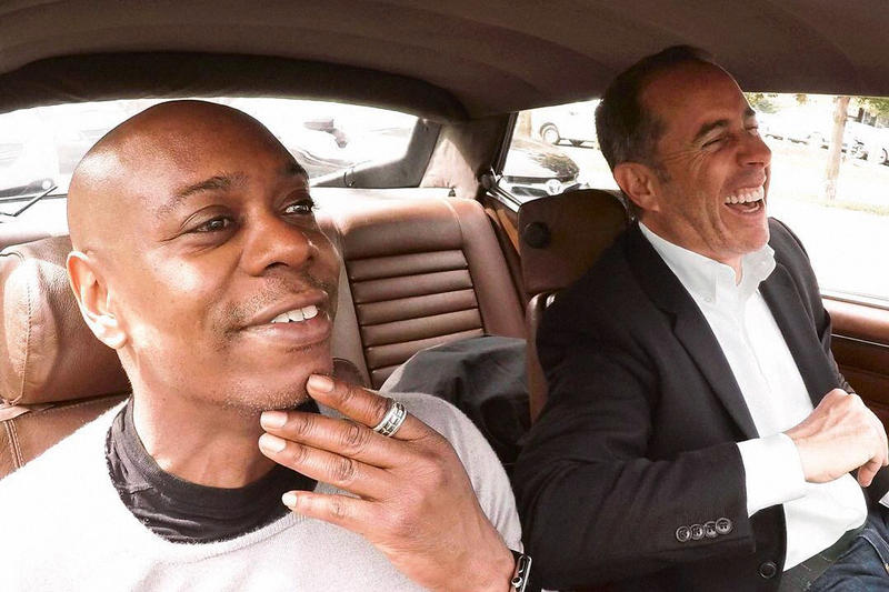 Jerry Seinfeld Dave Chappelle Comedians in Cars Getting Coffee preview netflix