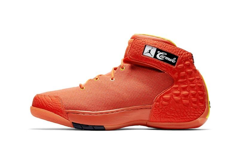 e7e7062ff7effc Jordan Brand Jordan Melo 1.5 OKC PE player exclusive carmelo anthony  oklahoma city thunder sneakers