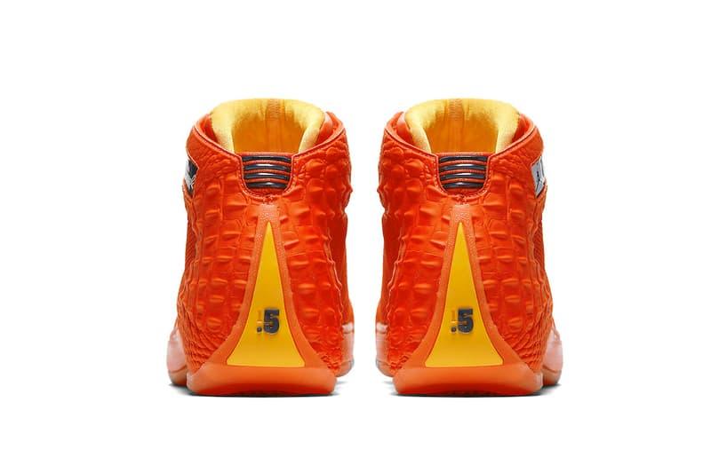 Jordan Brand Jordan Melo 1.5 OKC PE player exclusive carmelo anthony oklahoma city thunder sneakers