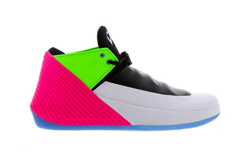 Jordan Why Not Zer0.1 Low Colorway Quai 54 White pink green blue basketball  tournament 7075ae5e0