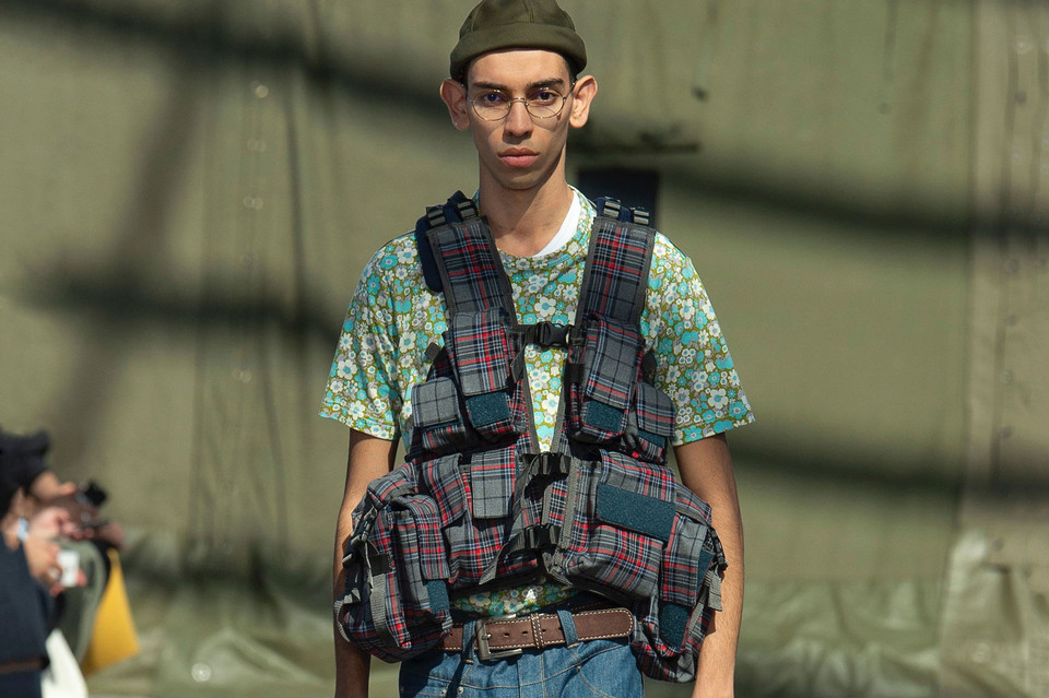 Junya Watanabe SS19 Is All About Storage