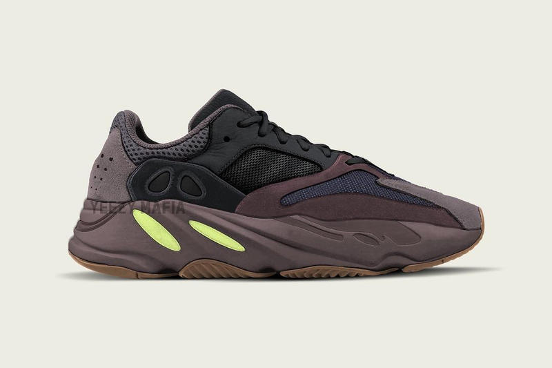 0880ed3462d Kanye West YEEZY BOOST 700 Wave Runner Mauve adidas purple yellow new  colorway release date info