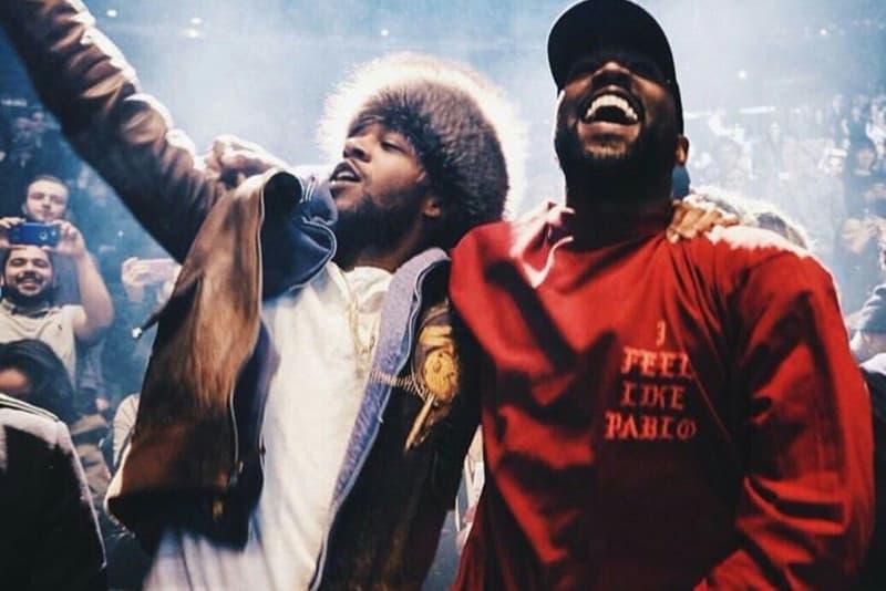 Kanye West Kid Cudi Kids See Ghosts Listening Party LA los angeles june 7